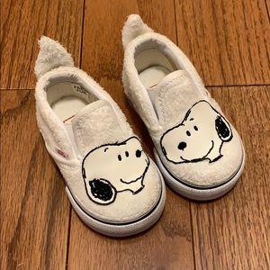 Toddler Snoopy Vans